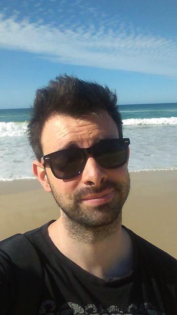 Rainbow Beach Selfie