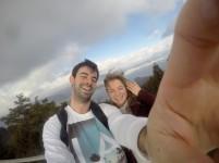 Olga and I - Mt Misen, Japan